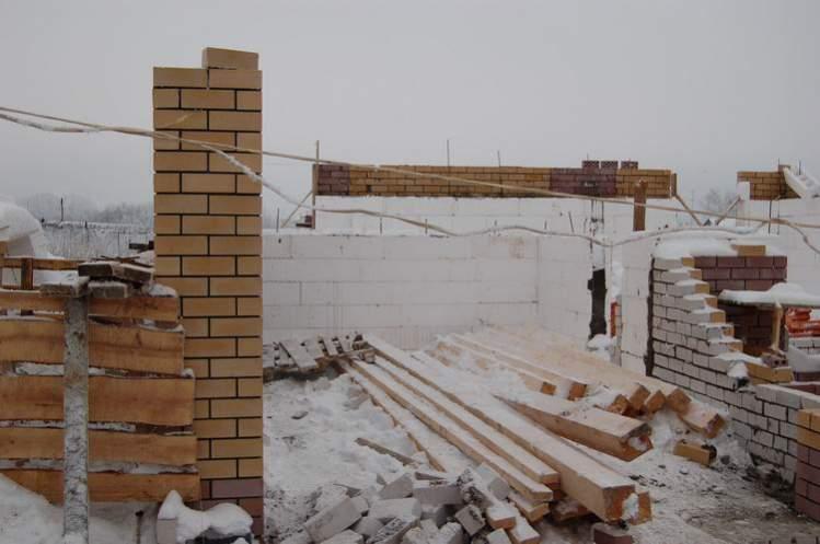 Как я строил гараж своими руками